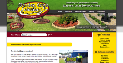 Garden Edge Solutions Example